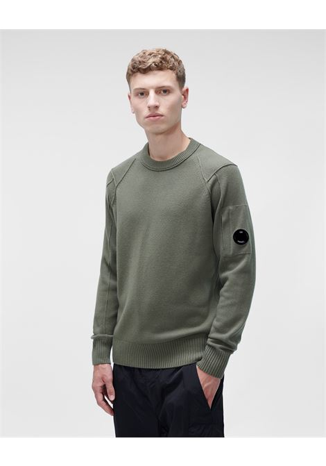 lambswool crew neck knit C.P. Company | Maglia | 11CMKN087A-005504A665