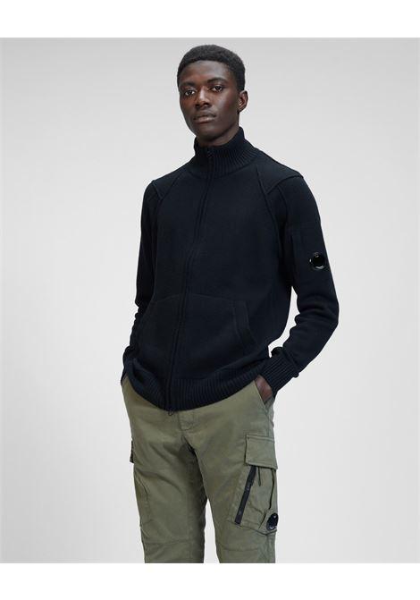 lambswool full zip knit C.P. Company   Cardigan   11CMKN090A-005504A999
