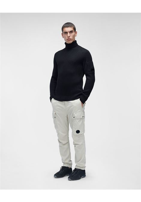 merino wool roll neck knit C.P. Company | Maglia | 11CMKN182A-005292A999