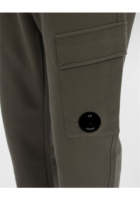 raised fleece sweatpants C.P. Company | Pantafelpa | 11CMSP057A-005086W665