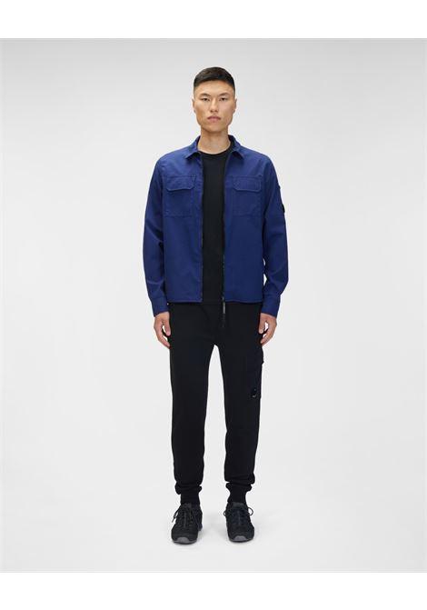 raised fleece sweatpants C.P. Company | Pantafelpa | 11CMSP057A-005086W999