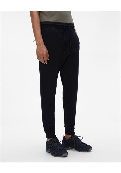 diagonal raised fleece track pants C.P. Company | Pantafelpa | 11CMSP066A-005086W999