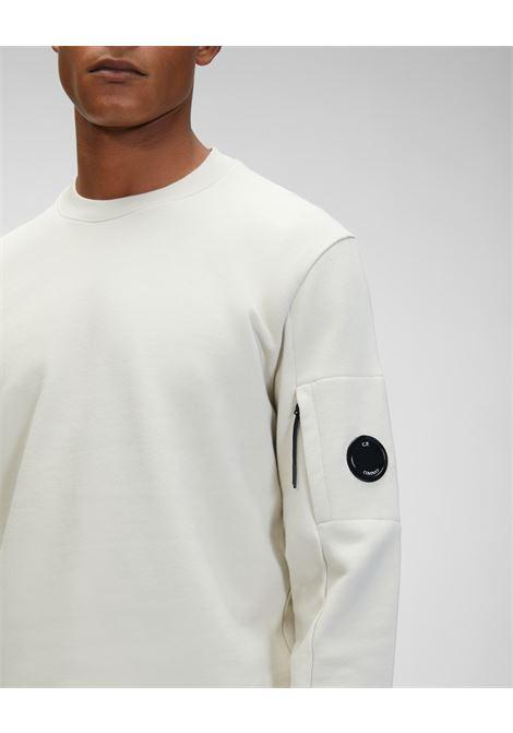diagonal raised fleece sweatshirt C.P. Company | Felpa | 11CMSS055A-005086W116