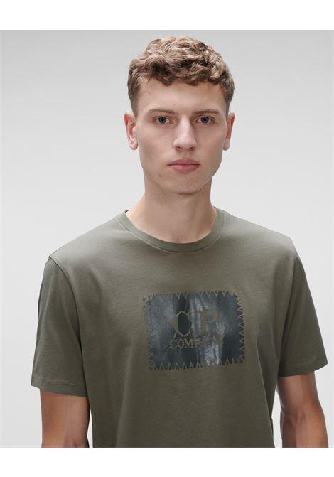 t-shirt jersey label logo C.P. Company   T-shirt   11CMTS038A-005100W665