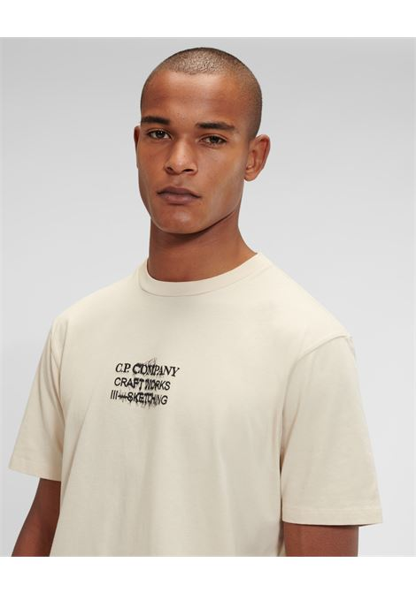 t-shirt jersey craftworks C.P. Company   T-shirt   11CMTS354A-005621W116