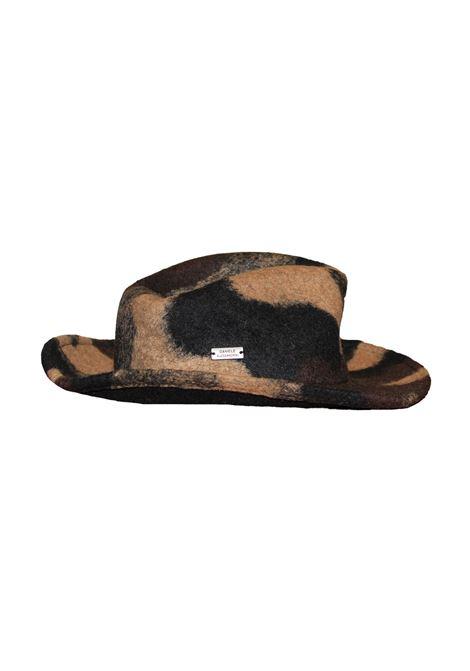 cappello camouflage lana cotta Daniele Alessandrini | Cappello | U2134106120