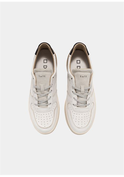 court leather D.A.T.E. | Sneakers | M351-CR-LE-WHWHITE