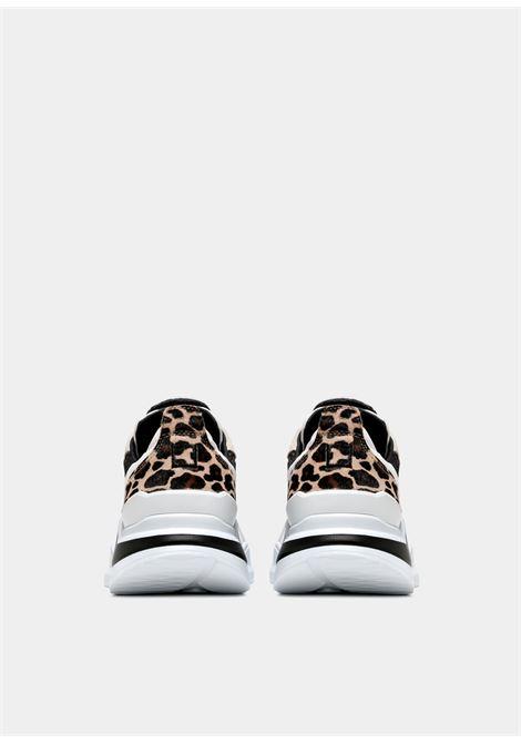 fuga animalier D.A.T.E. | Sneakers | W351-FG-AN-WHWHITE