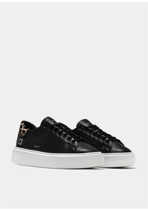 sfera calf D.A.T.E. | Sneakers | W351-SF-CA-BKBLACK