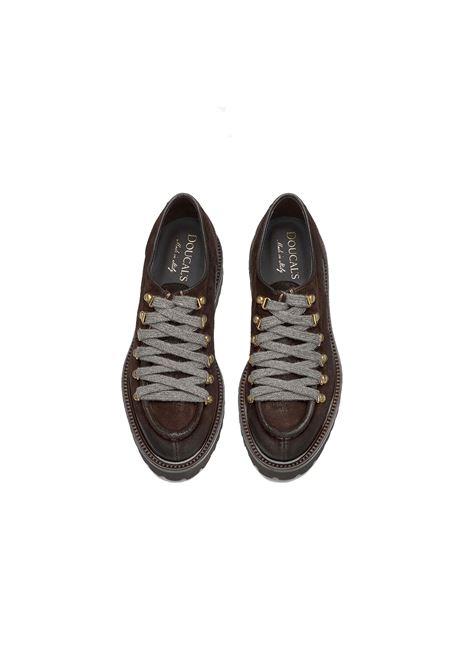 scarpa bordata ganci Doucal's | Scarpe | DD8433PHILUF011TM06OIL-CAFFE