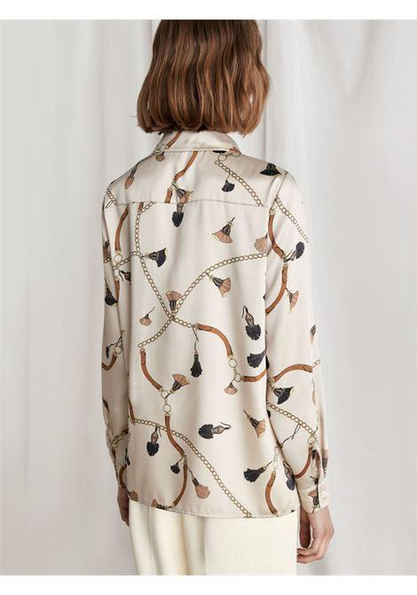 Blusa in twill Emme Marella | Camicia | COCCO003