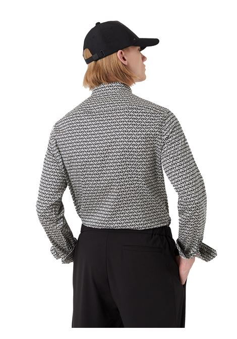 Camicia in cotone stretch Emporio Armani | Camicia | 6K1C65-1NZJZF014