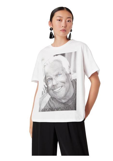 T-Shirt in cotone mercerizzato Emporio Armani | T-shirt | 6K2T7T-2J95Z0100