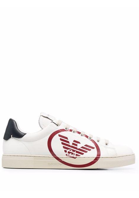 Sneakers con stampa Emporio Armani | Sneakers | X4X554-XM990N481