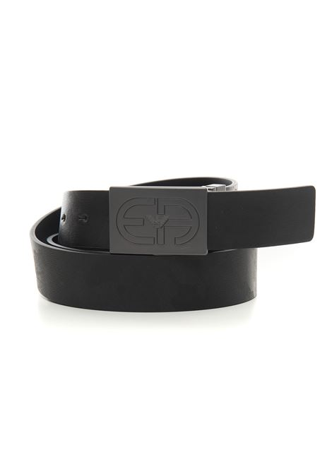 Cintura con fibbia logata Emporio Armani | Cintura | Y4S480-Y084J85729