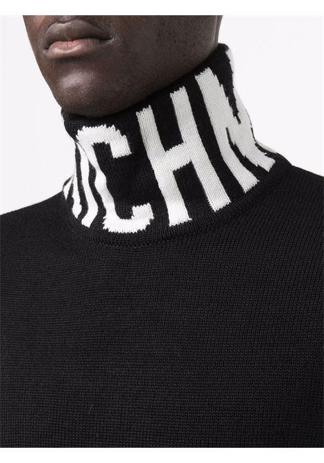 sweater diloir John Richmond | Collo alto | RMA21029LUMIBLACK/WHITE