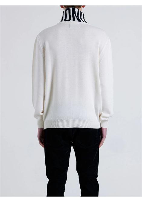 sweater diloir John Richmond | Collo alto | RMA21029LUMIWHITE/BLACK