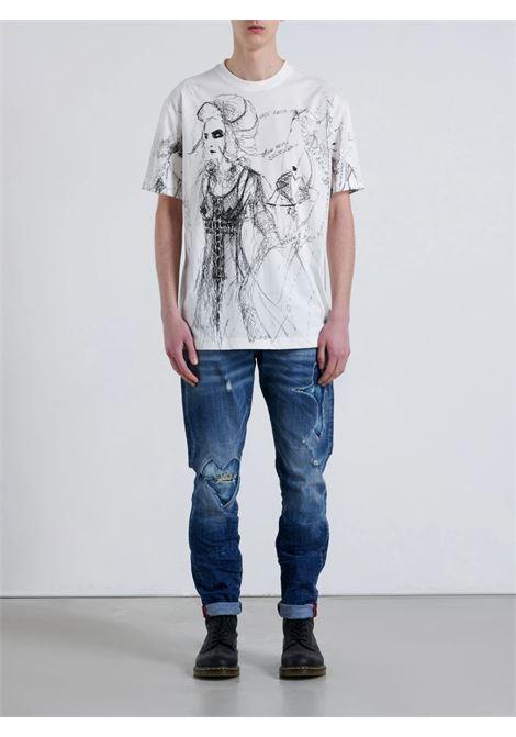over lijuda John Richmond | T-shirt | RMA21135TSA8WHITE