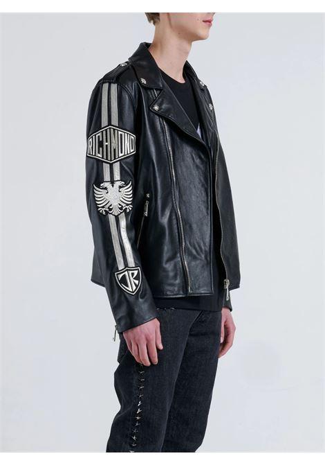mamur leather jacket John Richmond | Jacket | RMA21167GBFABLACK