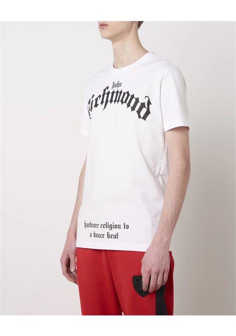 mcenroe John Richmond | T-shirt | RMA21312TS9FWHITE