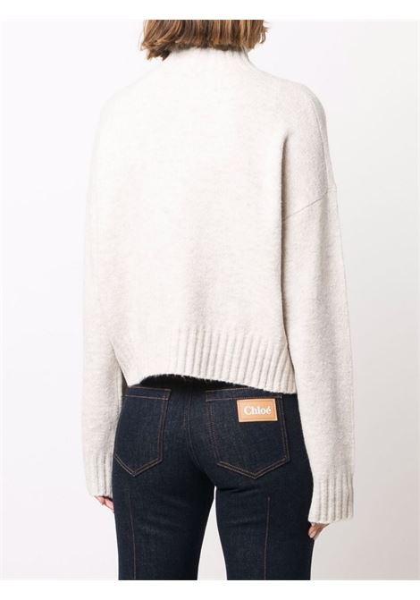 pullover con stampa Just Cavalli | Collo alto | S04HA0400101