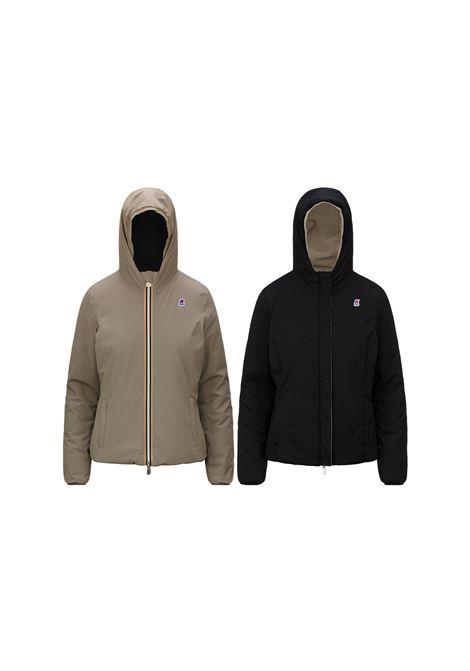 lily warm double jacket short K-Way   Jacket   K11199WA53