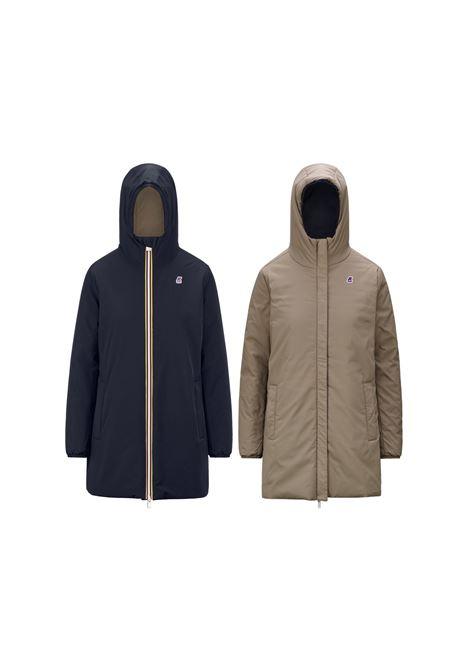 sophie warm double jacket mid K-Way   Jacket   K111J8WABL