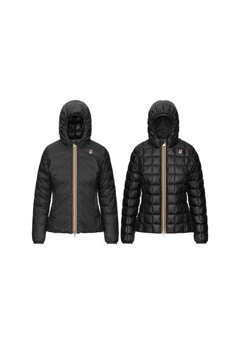 lily thermo fancy double jacket short K-Way   Jacket   K8111KWUSY