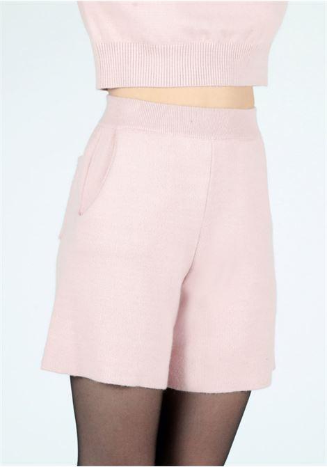 pink knitwear pants Le Volière | Shorts | WW21P700PPINK