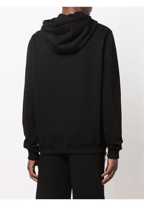hooded sweater thunderbolt print Les Hommes | Felpa | LLH465758P9000