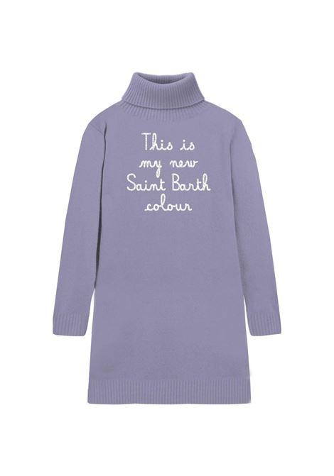 cozy turtle knit dress MC2 Saint Barth | Abito | COZ0001EMFA24