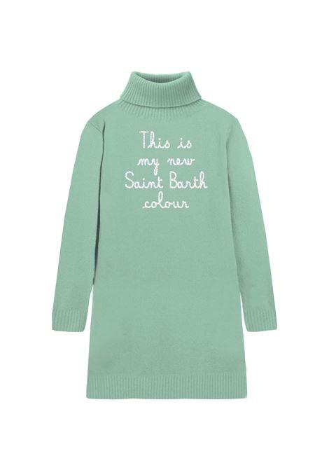 cozy turtle knit dress MC2 Saint Barth | Abito | COZ0001EMFA53
