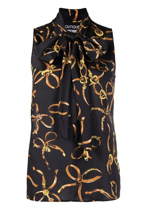 Top senza maniche Moschino Boutique | Camicia | A0224-61481555