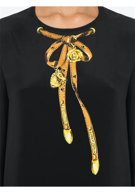 Blusa stampata Moschino Boutique | Camicia | J0218-61371555