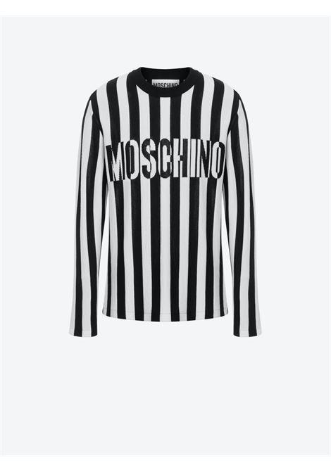 Pullover a righe Moschino Couture | Maglia | A0910-70001555