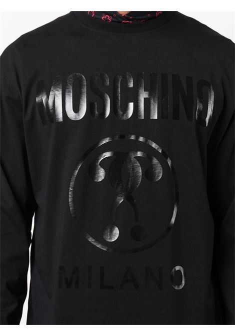 T-shirt manica lunga Moschino Couture | T-shirt | A1207-7040555
