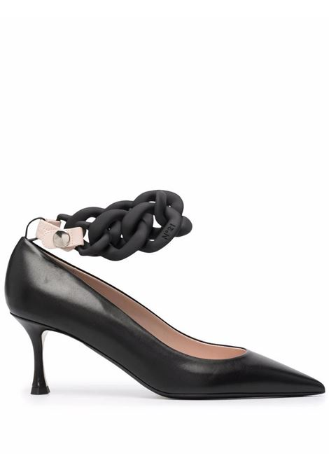 Scarpe con catena N°21 | Scarpe | 21CPXNV12013X004
