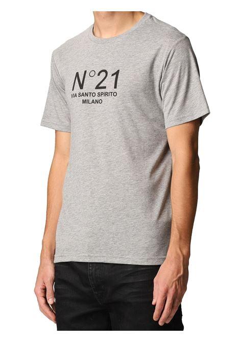 T-shirt logata N°21   T-shirt   F031-63168989