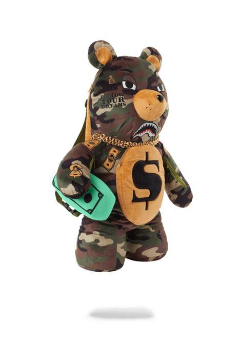 Zaino teddy bear Sprayground | Zaino | 910B3744NSZCAMO