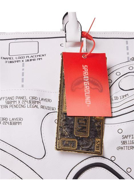 borsone - technical cut e sew duffle Sprayground | Borsa | 910D3845NSZBN