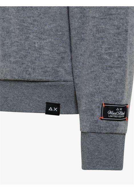 hood zip wool Sun68 | Felpa | F4112534