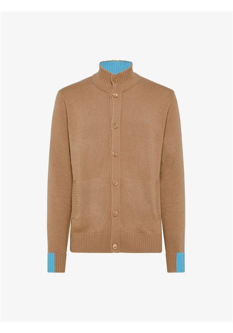 cardigan solid color rib Sun68   Cardigan   K4113516