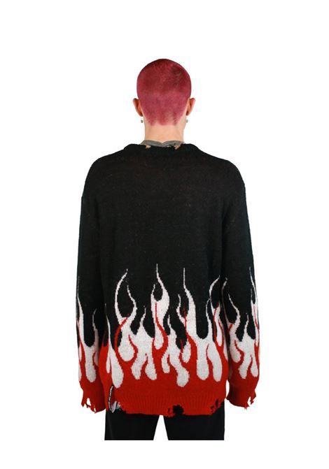jumper double flame Vision Of Super | Maglia | B8DOUBLEBLACK
