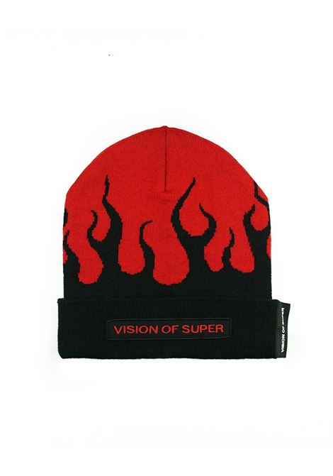 Berretto Vision of Super flames Vision Of Super | Cappello | BEANIEFLREDBLACK