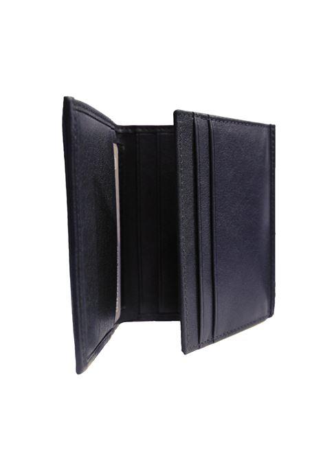 Portafogli in pelle PiQuadro | Portafogli | PU3244S105RBLU