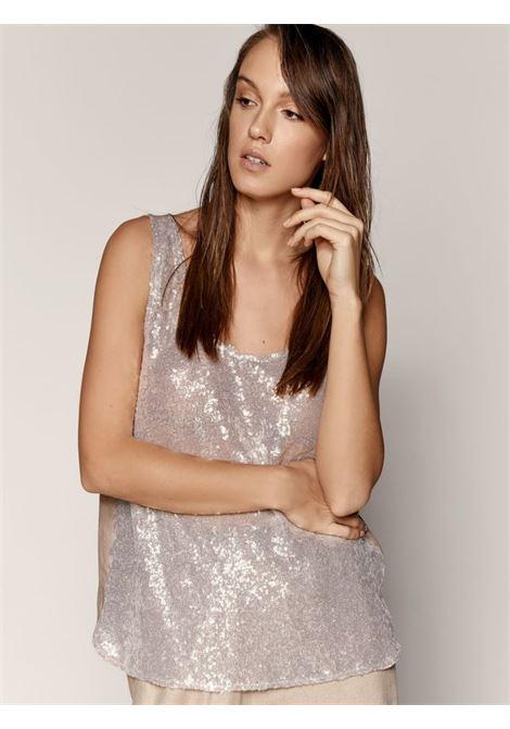 Blusa smanicata ACC ESS Fashion | Blusa | 2065-119BEIGE
