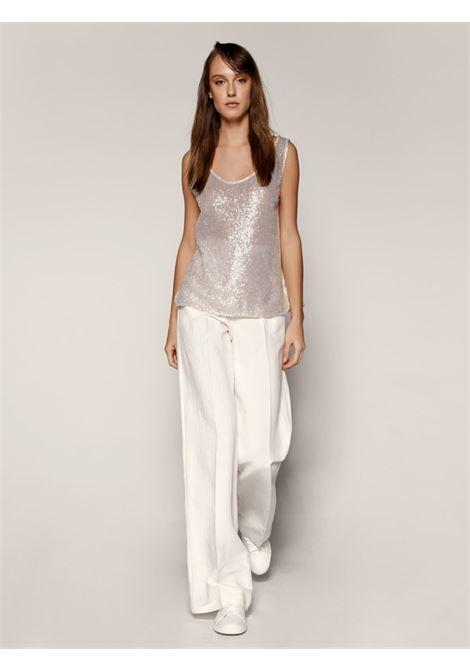 Blusa smanicata ACC ESS Fashion   Blusa   2065-119OFF-WHITE
