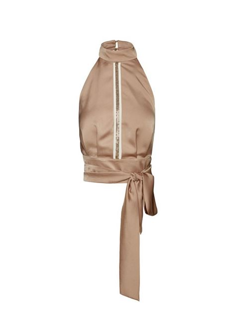 Top in raso ACC ESS Fashion | Blusa | 2104-339GOLD