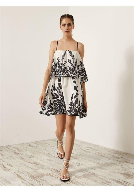 Mini abito con volant ACC ESS Fashion | Abito | 3036-1009OFFWH