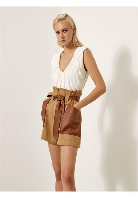 Shorts a vita alta ACC ESS Fashion | Shorts | 5008-103CAMEL